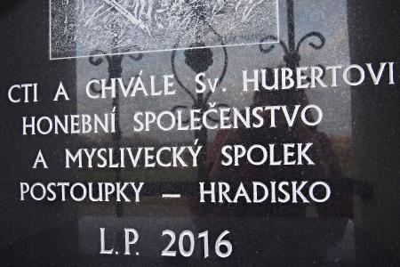 Boží muka sv.Huberta  Hradisko_3