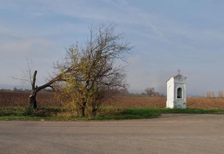 Výklenková kaplička Bílá Lhota - Řimice