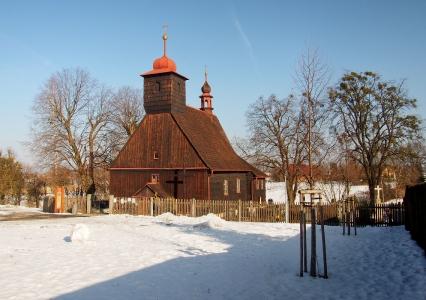Dřevěný kostel sv. Michaela Archanděla Řepiště_1
