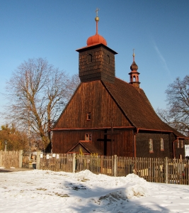 Dřevěný kostel sv. Michaela Archanděla Řepiště_2