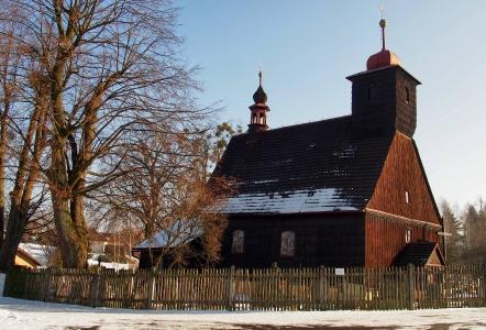 Dřevěný kostel sv. Michaela Archanděla Řepiště_6