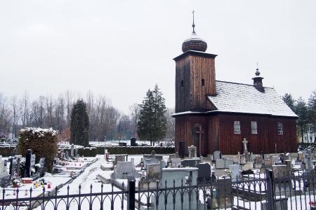 Dřevěný kostel sv. Petra a Pavla Albrechtice_1