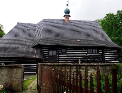 Dřevěný kostel sv.Jana Křtitele, Slavoňov