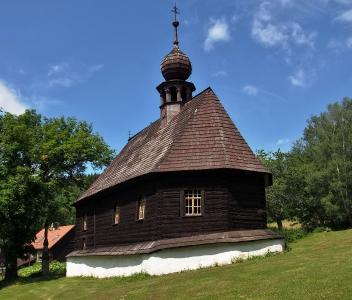 Dřevěný kostel sv.Jana Nepomuckého Klepáčov_4