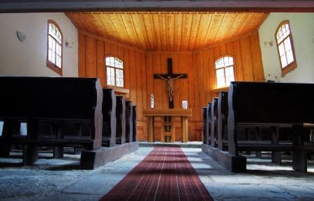 Dřevěný kostel sv.Jana Nepomuckého Klepáčov_9