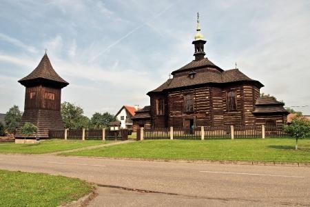 Dřevěný kostel sv.Jiří Loučná Hora_1