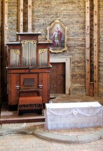 Dřevěný kostel sv.Jiří Loučná Hora_4