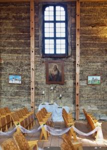 Dřevěný kostel sv.Jiří Loučná Hora_8