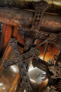Sedliště - Dřevěný kostel Všech svatých_14