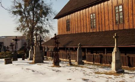 Sedliště - Dřevěný kostel Všech svatých_16