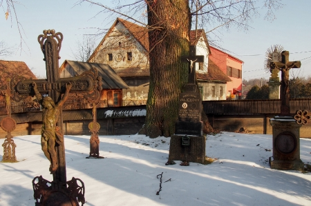 Sedliště - Dřevěný kostel Všech svatých_19