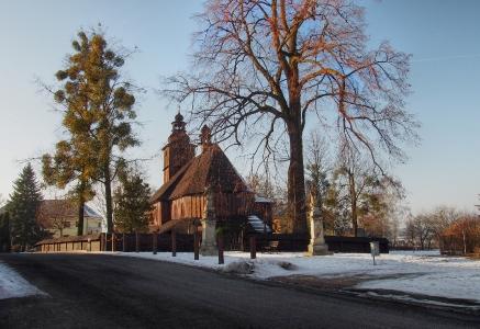 Sedliště - Dřevěný kostel Všech svatých_1