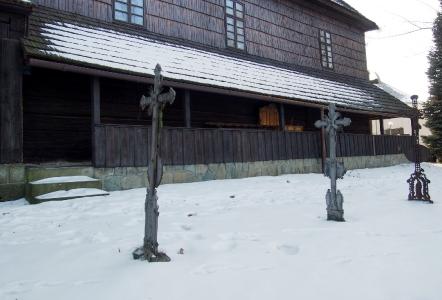 Sedliště - Dřevěný kostel Všech svatých_21