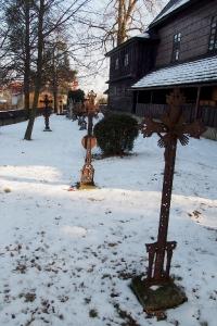 Sedliště - Dřevěný kostel Všech svatých_27