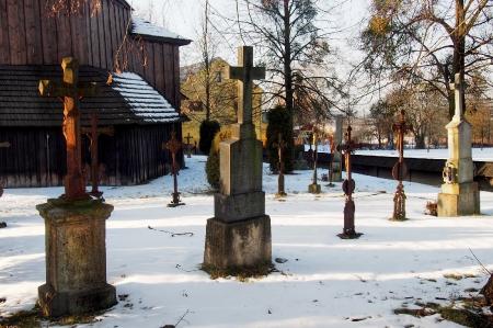 Sedliště - Dřevěný kostel Všech svatých_29