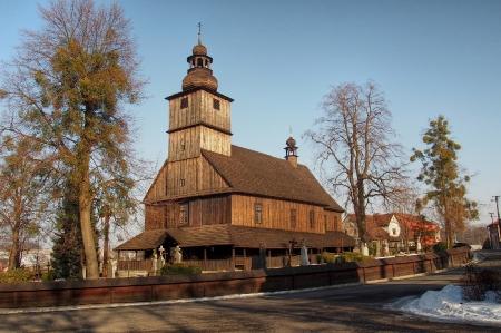 Sedliště - Dřevěný kostel Všech svatých_2