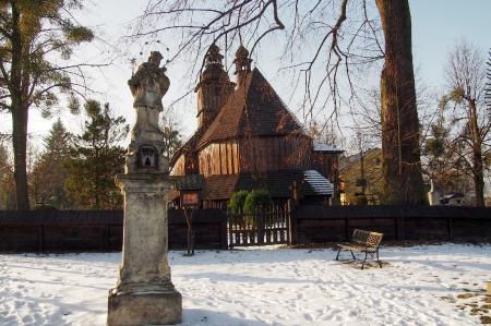 Sedliště - Dřevěný kostel Všech svatých_30