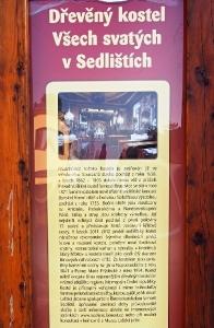 Sedliště - Dřevěný kostel Všech svatých_3