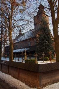 Sedliště - Dřevěný kostel Všech svatých_4