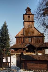 Sedliště - Dřevěný kostel Všech svatých_5