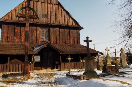 Sedliště - Dřevěný kostel Všech svatých_6