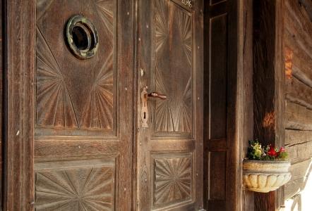 Sedliště - Dřevěný kostel Všech svatých_9