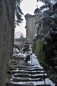 Barokní kaple Panny Marie Sněžné na Hvězdě