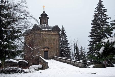 Barokní kaple Panny Marie Sněžné na Hvězdě_1