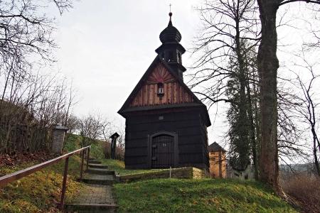 Dřevěná kaple Panny Marie v Kozlově _2