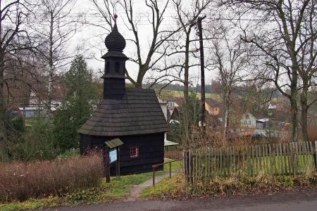 Dřevěná kaple Panny Marie v Kozlově _5