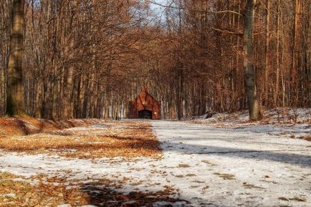 Dřevěná poutní  kaple sv. Kříže v Lískovci_1