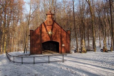 Dřevěná poutní  kaple sv. Kříže v Lískovci_3