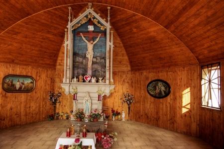 Dřevěná poutní  kaple sv. Kříže v Lískovci_7