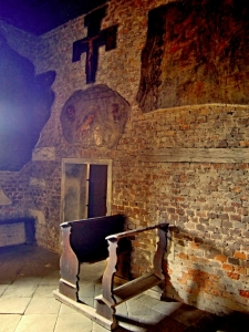 Kaple sv. Jana Nepomuckého na hradě Potštejn