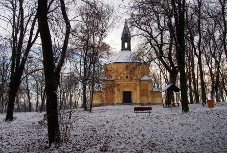 Kaple sv. Rocha na Křížovém vrchu Hustopeče