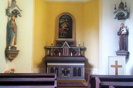 Kaple sv.Antonína Paduánského Javorník_4