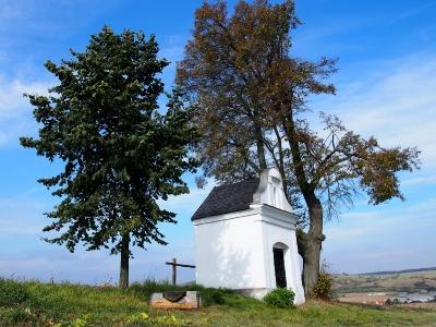 Kaplička Borová (na Konicku u obce Dzbel)_6