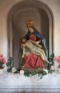 Poutní kaple P. Marie Bolestné Lutršték, Němčany_4