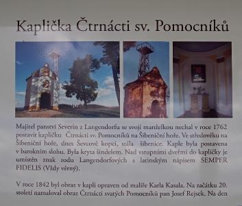 Šibeniční vrch - Kaplička Čtrnácti sv. Pomocníků_1