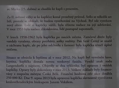 Šibeniční vrch - Kaplička Čtrnácti sv. Pomocníků_2