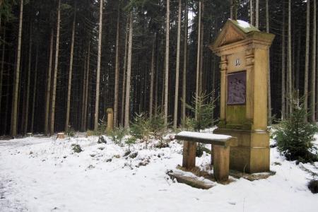 Křížová cesta s kaplí Panny Marie Růžencové (Suchý Důl )