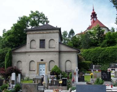 Stražisko - Kostel sv. Andělů Strážných s Křížovou cestou