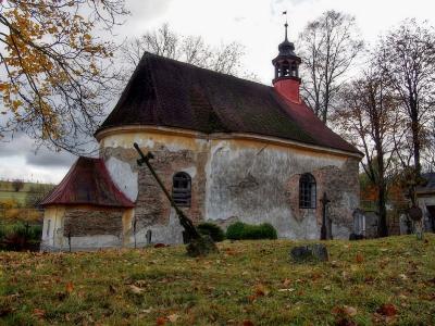Boškov - Kostel sv. Máří Magdalény_14