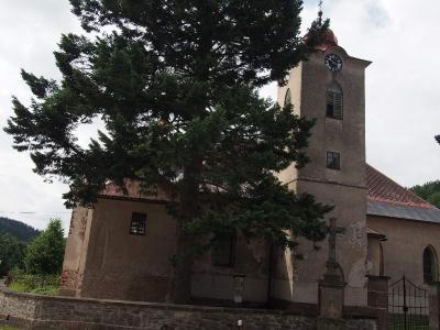 Fořt - Kostel nejsvětější trojice