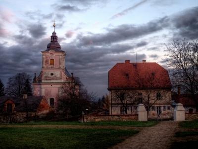 Kostel Nanebevzetí Panny Marie - Slatinice_1