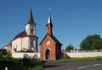 Kostel sv. Jiří  Vrchy_1