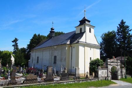 Kostel sv. Kateřiny Bílá Lhota_1