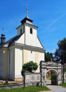 Kostel sv. Kateřiny Bílá Lhota_2