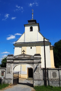 Kostel sv. Kateřiny Bílá Lhota_4