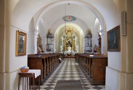 Kostel sv. Kateřiny Bílá Lhota_7